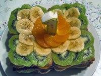 """""""Персональный шедевр для именинника"""" - торт для годовалого малыша Основа торта - печенье """"Неженка""""..."""