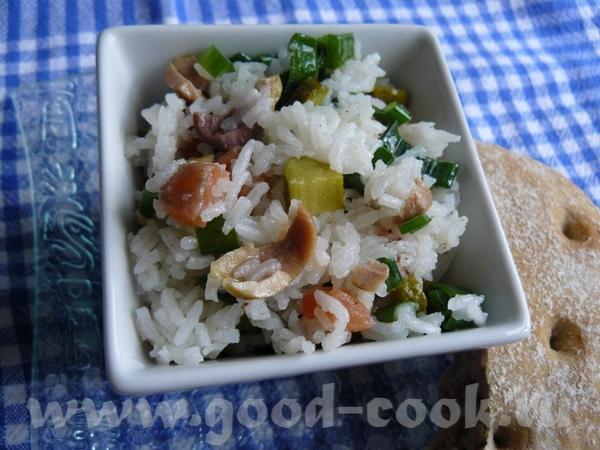 Салат из остатков, чистила вчера холодильник, получилось очень вкусно, буду-ли специально такой дел...