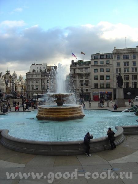 не проходим мимо Трафальгарской площади, где расположена Национальная галлерея, проводятся все круп...