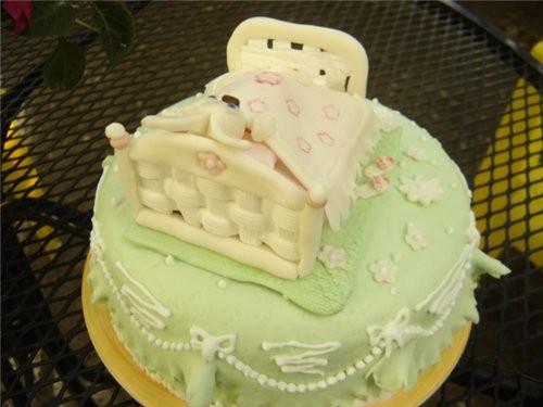 А этот торт я делала нам без всякого повода,ну ещё до от'езда - 2