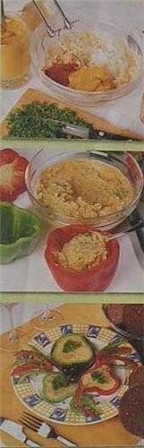 Перечные колечки с сырным кремом Эта оригинальная и сытная закуска не только аппетитно выглядит - 2