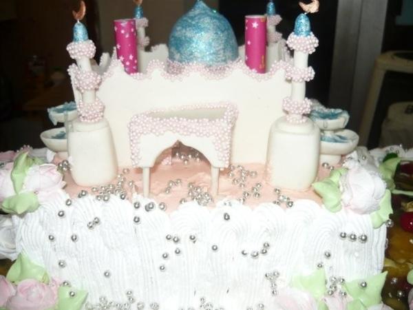 свадебный торт мечеть - 3