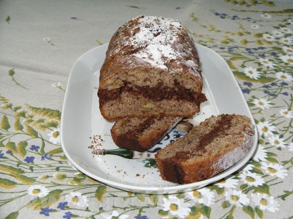Шоколадно-банановвые кексы от A n Рецепт Здесь 2 чашки муки 1/4 чашки пшеничных зародышей/wheat ger... - 2