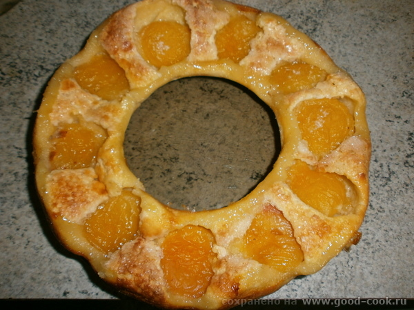 Пирог с абрикосами Это то, что к вечеру(ночи) осталось - 3