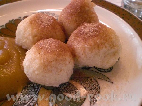 Quarkknцdel (Topfenknцdel) – Творожные кнедли 50 г слив масла 30 г сахара 2 яйца Щепотка соли 180 г... - 3