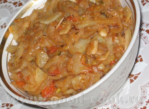 Баклажаны по-румынски Теплый салат из фенхеля - 2