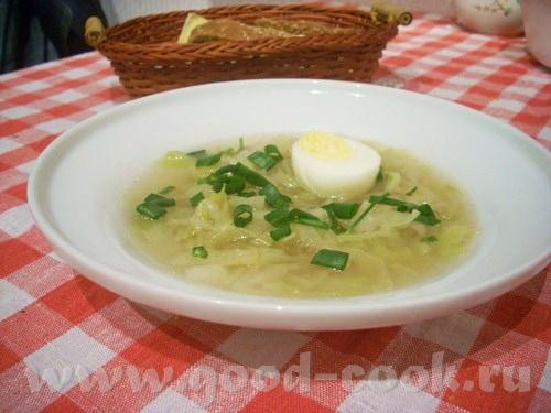 Суп-пюре из базилика с зеленым горошком Пряный суп с молодой капустой - 2