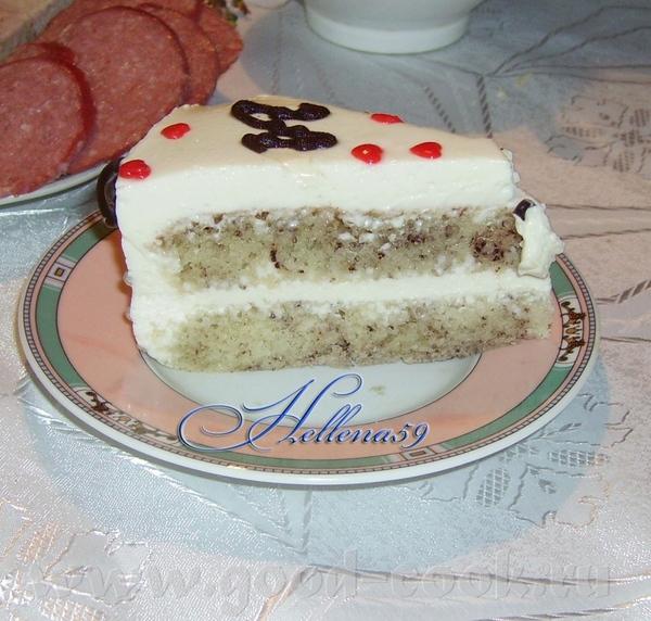 А вот и мой торт,сегодня ездили к брату мужа на день рождения - 3