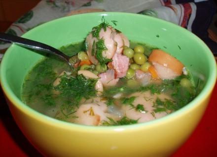 Гороховый суп (с замороженым горошком) - 2