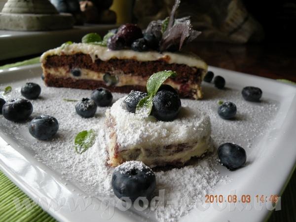 Я хочу предложить такой тортик с голубикой или как у нас называют ,,Ягода американская,, СНЕЖНОЕ СЕ... - 4