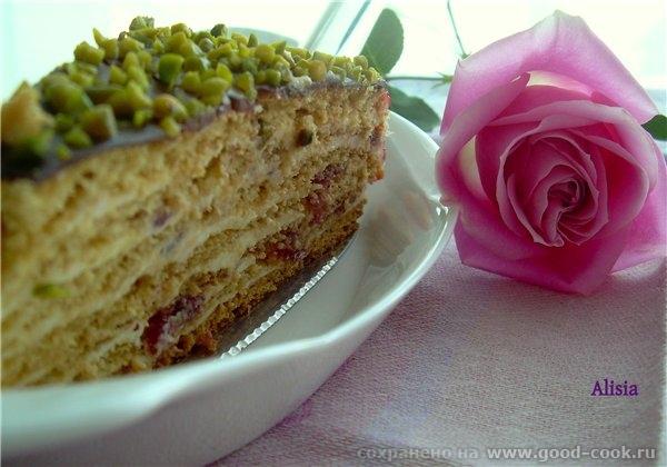 Ну вот и обещанный рецепт Валентиновского торта который был у нас на праздник