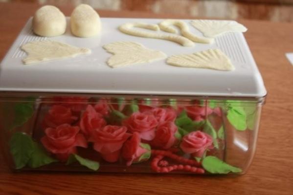 Лепка роз есть несколько вариантов - 4