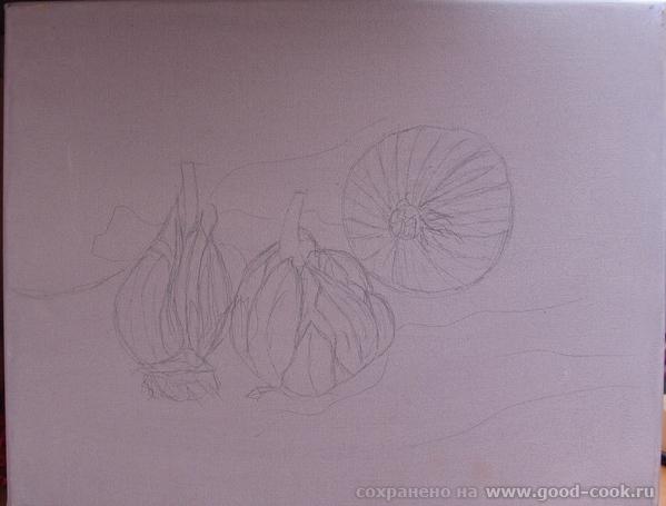 Вот начала что то делать с подлюками и подчесноками Сначала попыталась создать подобную композицию... - 2