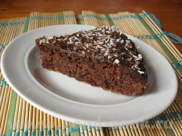Кокосовый бисквит с шоколадом от Люси light225 ЦИТИРУЮ: Изысканный воздушный кокосовый бисквит, лег... - 2