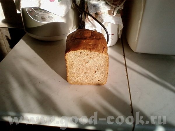 Пекла в среду хлеб пшенично ржаной на кефирной закваске от Ромы с сайта Хлебопечка - 2