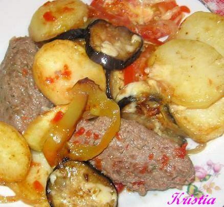 В понедельник готовила Кюфту с овощами в духовке, должна сказать что получилось очень, очень вкусно - 2