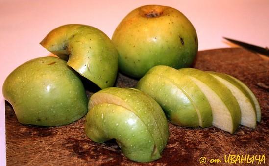 Оладышки с яблоками … очень вкусно - 3