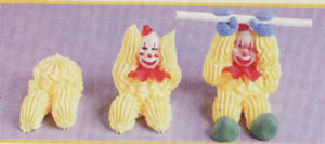 Chocolate Sunflower Making Frosting Clowns сайт - 2