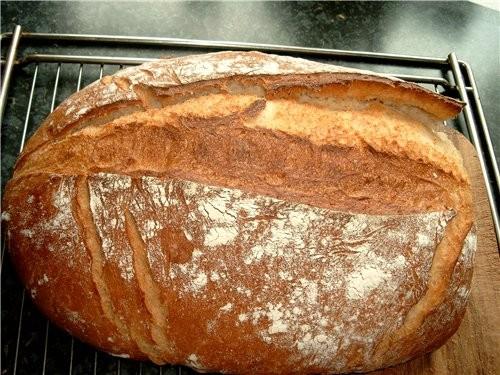 Вкусный белый хлеб, довольно лёгкий и быстрый в приготовлении - 2