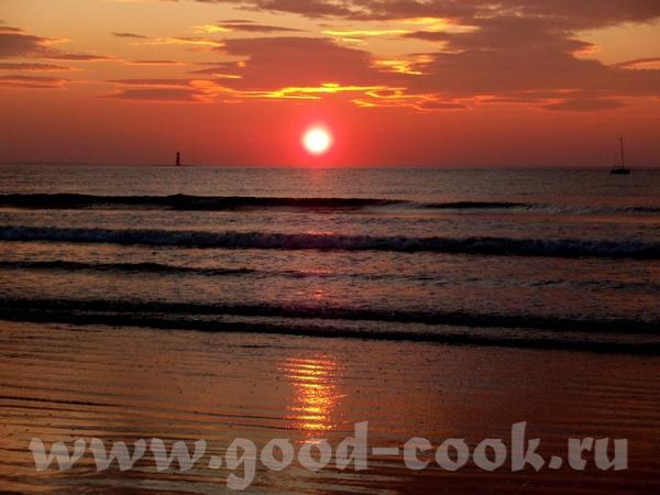Вот мая фотография- закат в океан Атлантас в Ирландии - 2