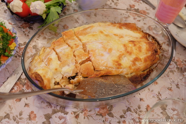 Салмон запеченный в духовке с сыром и сливками
