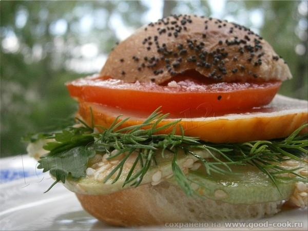 бутерброд с кабачками