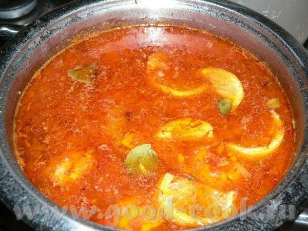 Рыбный суп от испанской свекрови Ады 500 гр рыбного филе (не морожено-размороженного, а охлажденног... - 2