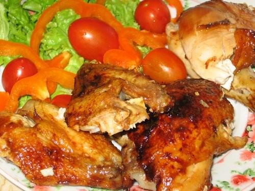 """Салат """"Лагуна"""" Курица, запеченая по-гавайски от Irochka Курица с 40 чесноками Плов Быстрые малосоль... - 4"""