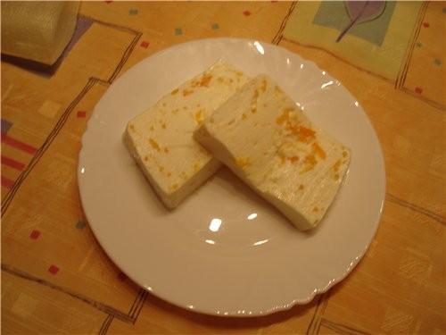 Творожный дессерт с мандаринами - 2