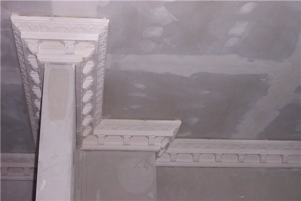 а у нас тоже ремонт, вот так мы сделали на потолке, как в греческом зале