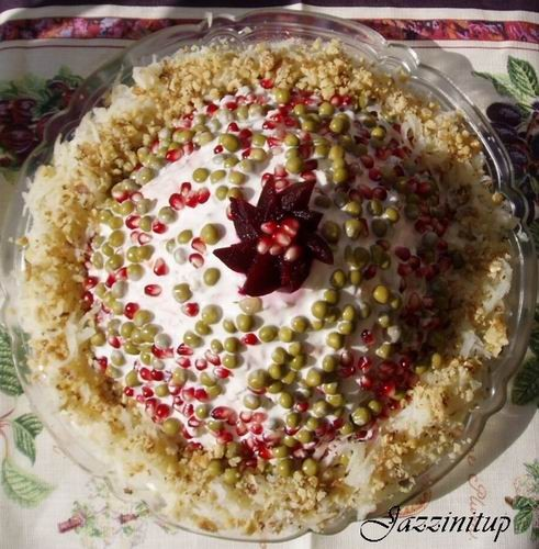 Сегодня мы идем в гости,я вчера сделала Царский торт и салат шапка Мономаха (идея с главной страниц... - 2
