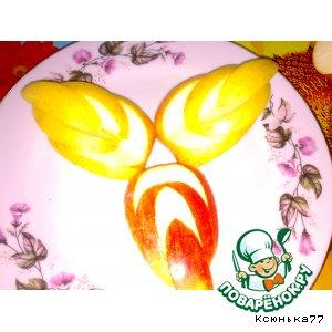 Сайт Поварёнок Листики из яблок От Украсит не только фруктовое ассорти, но и любое блюдо Ингредиент...