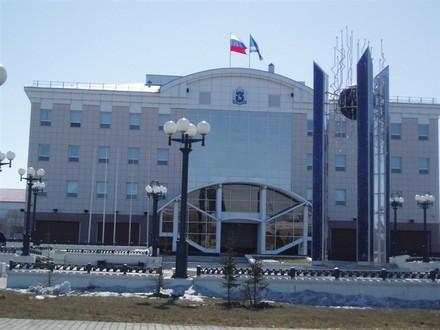 Новое здание администрации Тут заседает наш Неелов, губернатор - 2