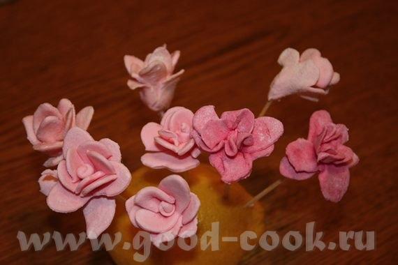Лепка роз есть несколько вариантов
