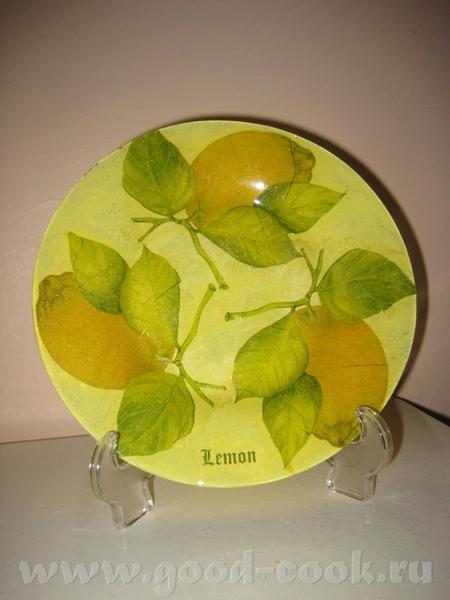 Вот ещё мои новые работы на прозрачных тарелках - 4