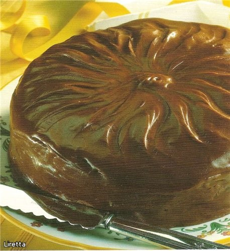 """ТОРТ """"ТЯНУЧКА"""" рецепт из книги """"Шоколадное искушение""""(пер - 2"""