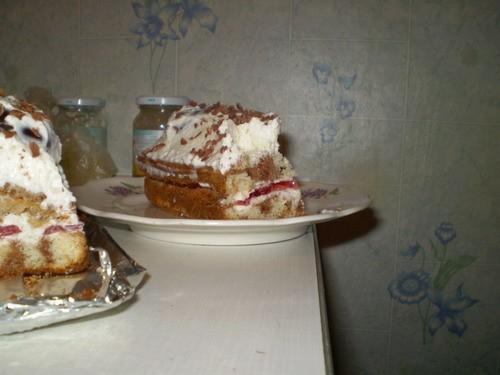 По этому рецепту что выше я испекта торт на день Татьяны Вот такой вот прекрасно-вкуснящий торт Ве... - 2