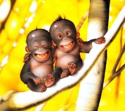 Вот нашла про обезьянок