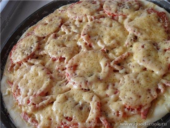 Пицца Маргарита (по моему ) Рецепт теста c Cook-Talk Forums, автор Начинка моя любимая Тесто: - 0