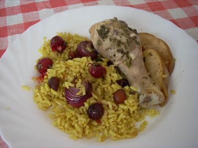 """Курица с миндалём (источник-""""Школа гастронома"""") на 6 порций ( в каждой- 546 ккал) 1 кг куриных голе..."""