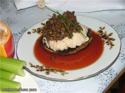 Центром стола было блюдо, название которого я не знаю, как перевести, ну пусть будет ПРИНАРЯЖЕННЫЙ... - 6
