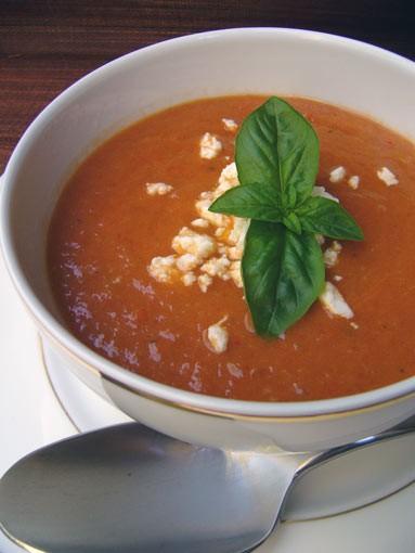 Суп из запеченных овощей, 2 способа