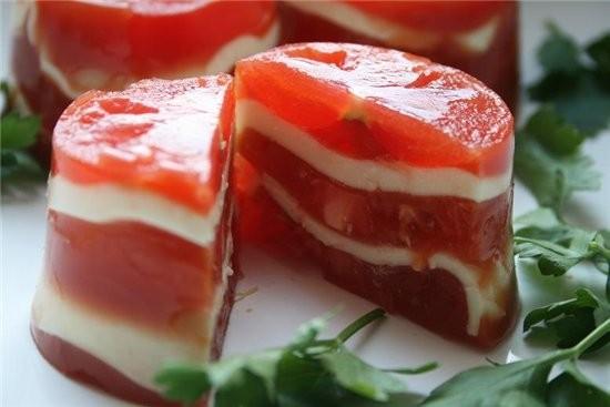 закуска из сыра и помидоров из журнала вкусные рецепты 3 шт - 2
