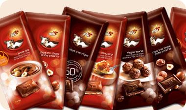 """Какой у вас выбор, а у нас местных конфет мало: шоколадки """"Корова"""" """"Песек Зман"""", """"Мекупелет"""", """"Твис... - 2"""