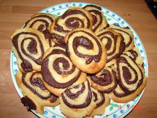 """двух цветное печенье """"Чёрно-белое"""" (Schwarz-WeiЯ-Geback) примерно на 40 шт(у меня от силы шт 20 выш..."""