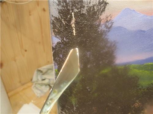 Вот таким образом мы рисуем кусты и деревья и получаем такую картинку 12 - 9