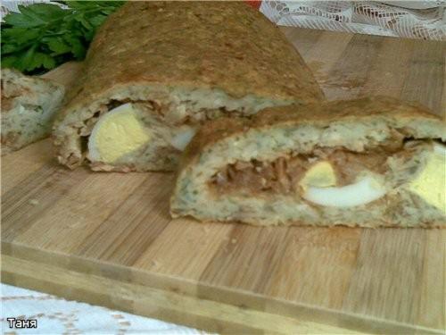 Хлебно-мясной батон с капустой Хлебный кругляш с баклажаном и сыром Дрожжевые булочки с овощной пас... - 2