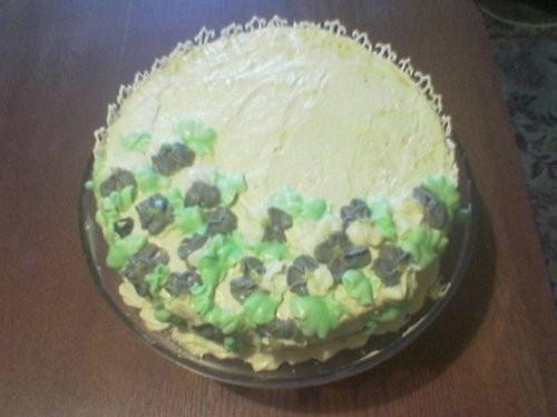 Вот шикарный нашла тебе рецепт торта