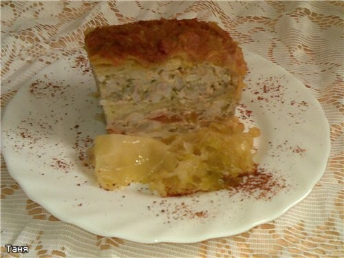 Голубец ленивый Капустные шницели Сырная запеканка с картофелем и оливками Блинчики на картофельно-...