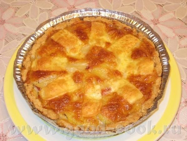 Тарт с картошкой, помидором и двумя сырами Рецепт теста взят в журнале Хлеб и Соль за август 2010